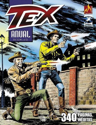 Tex Anual 21 - O Chefão De Chicago  - Vitoria Esportes