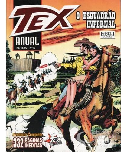 Tex Anual 10 - O Esquadrão Infernal  - Vitoria Esportes