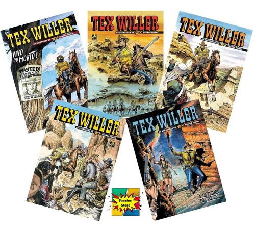 Tex Willer 5 Edições A Escolher  - Vitoria Esportes