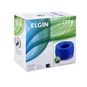 Cabo de rede Elgin CFTV 305M Azul