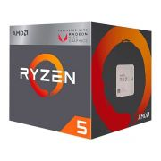 Processador AMD Ryzen 5 2400G Quad-Core 3.6GHZ (3.9GHZ Turbo) 6MB CACHE AM4, YD2400C5FBBOX