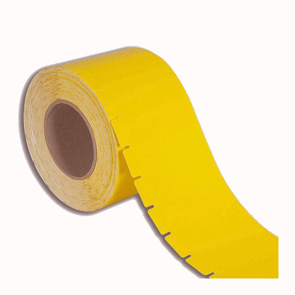 Etiqueta Gondola 90x30 mm Amarela Adesiva