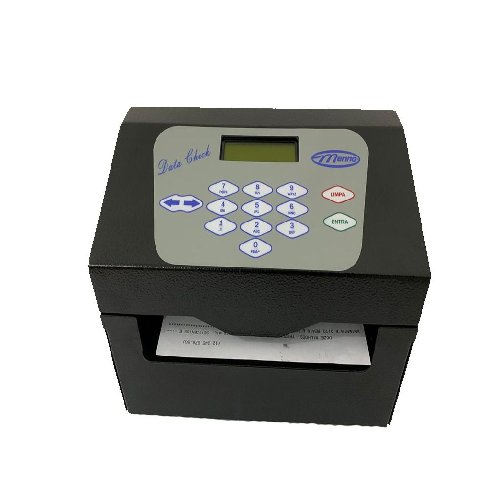 Impressora de Cheques Menno Datacheck Checkprinter USB