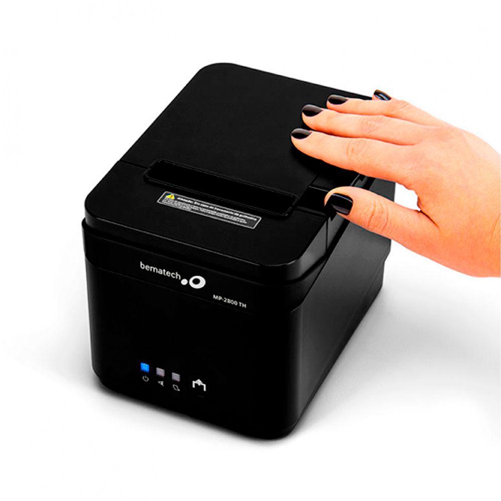Impressora Não Fiscal Bematech MP 2800 TH USB, Serial e Ethernet