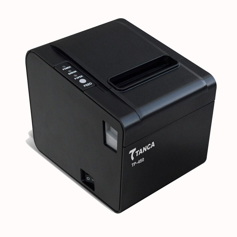 Impressora Não Fiscal Tanca TP-450 Serrilha Serial/Rede/USB