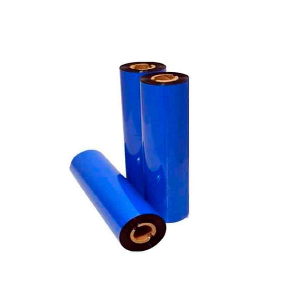 Kit Ribbon Resina 110x74m preto com 4 Unidades