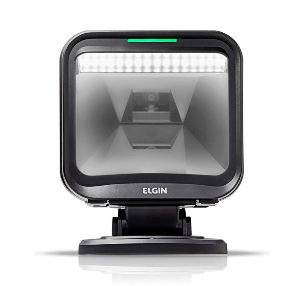 Leitor de Codigo de Barras Fixo Elgin EL-5220 2D USB - Garantia 5 Anos