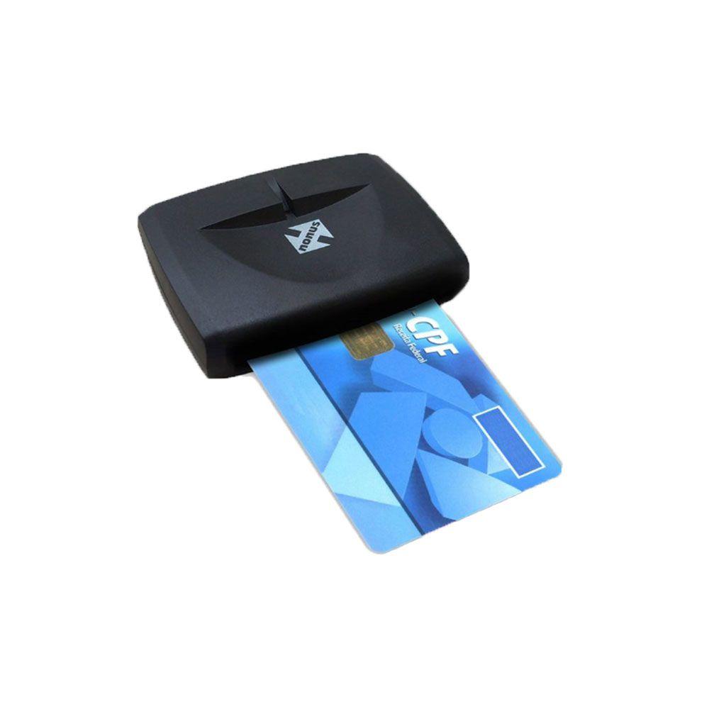 Leitor e Gravador Smartcard Nonus para Certificado Digital