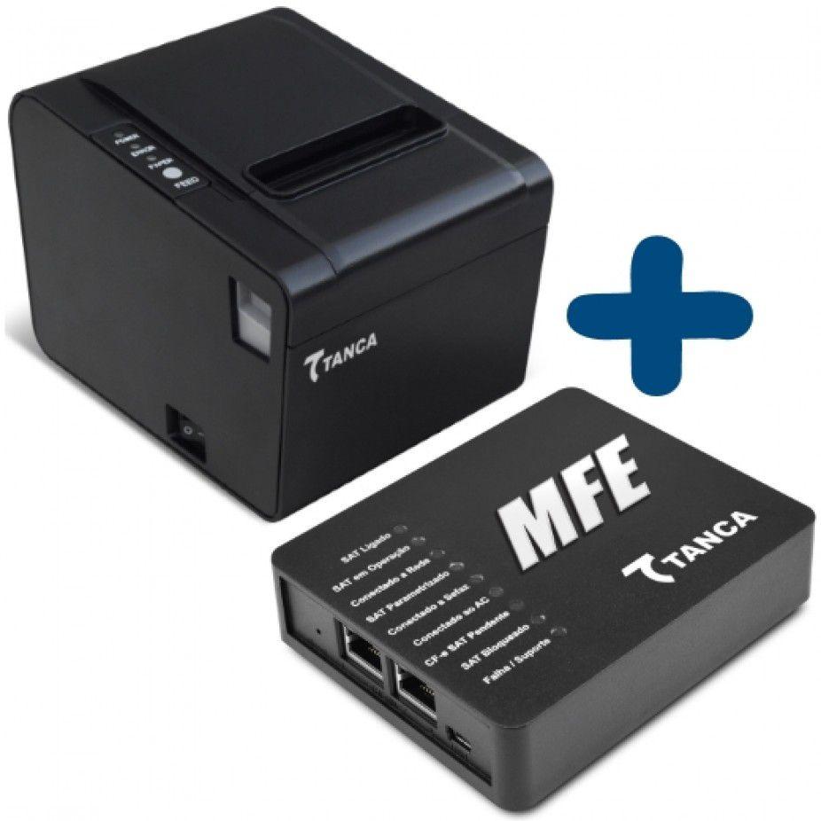 KIT MFE Tanca TM-1000 e Impressora TP-650 Guilhotina