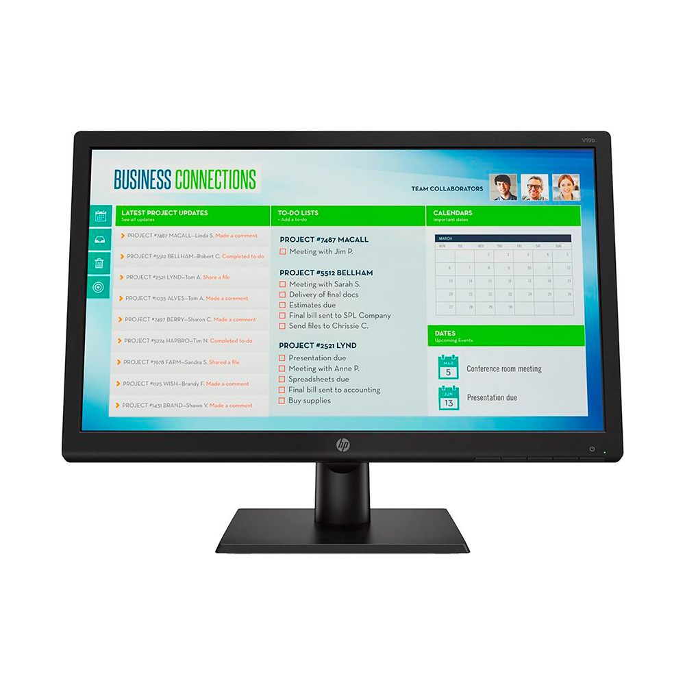Monitor Led HP V19b 18,5""