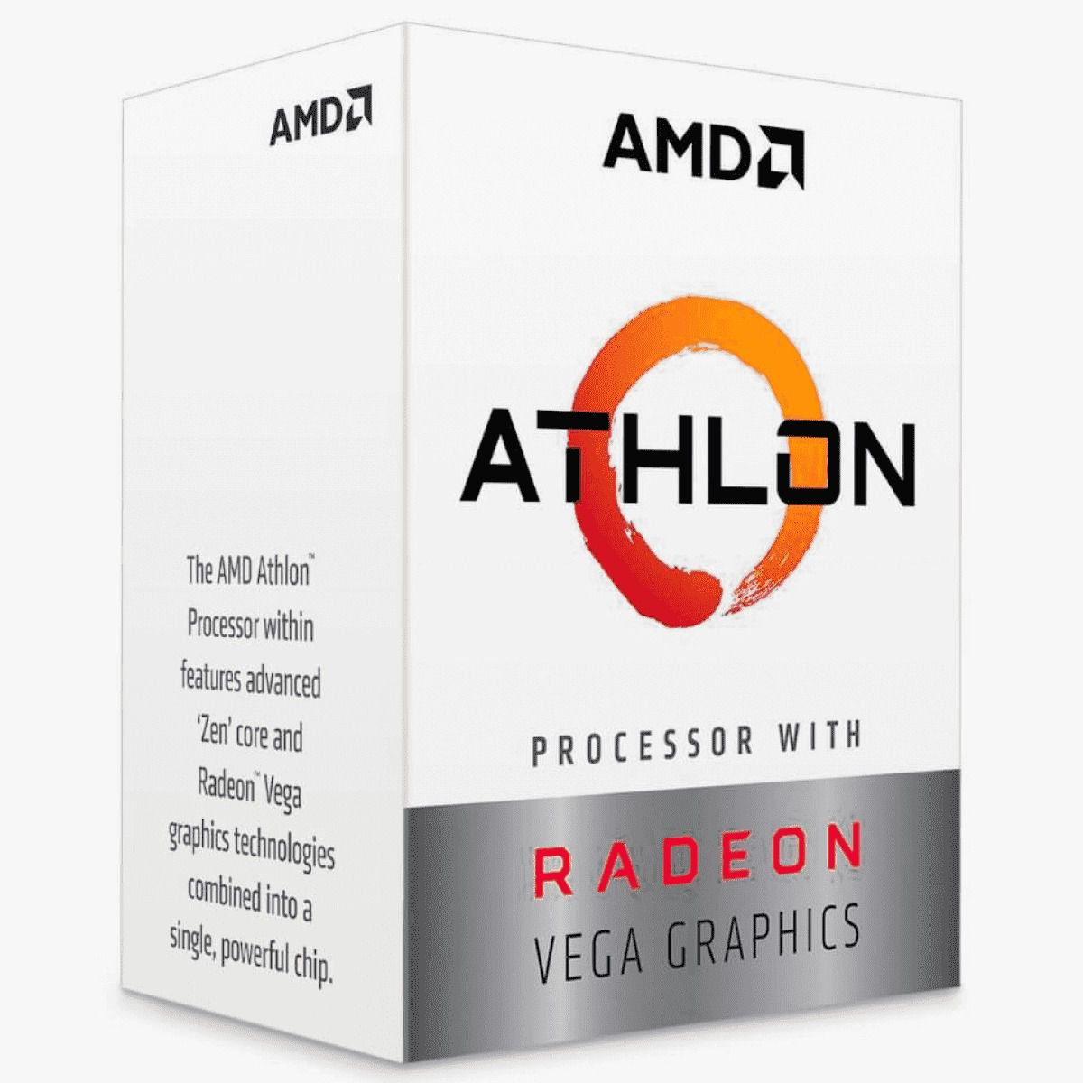 Processador AMD Athlon 200GE, Cache 5MB, 3.2GHz, AM4 YD200GC6FBBOX