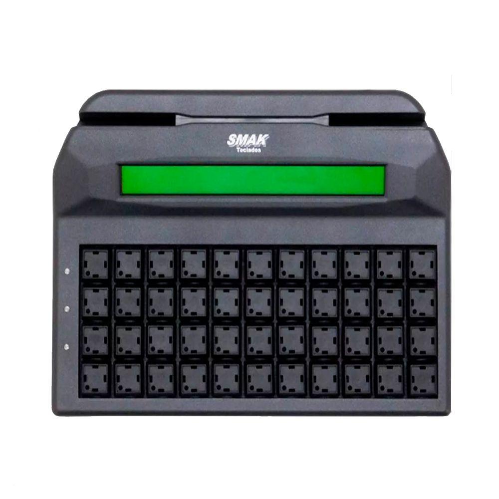 Teclado PDV Smak 44 Teclas com display 2 Linhas e conexão Ps2