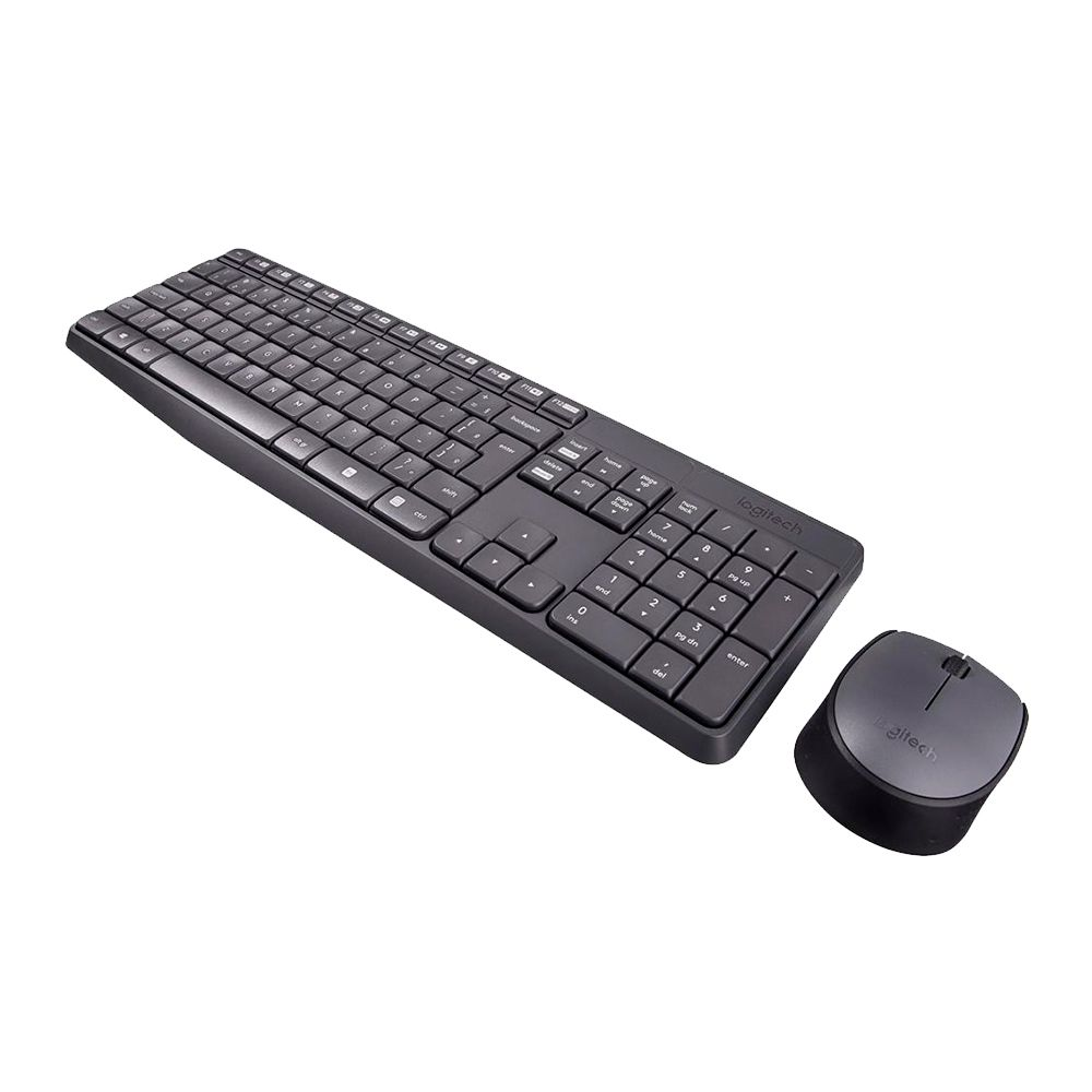 Teclado USB Sem Fio Logitech MK235