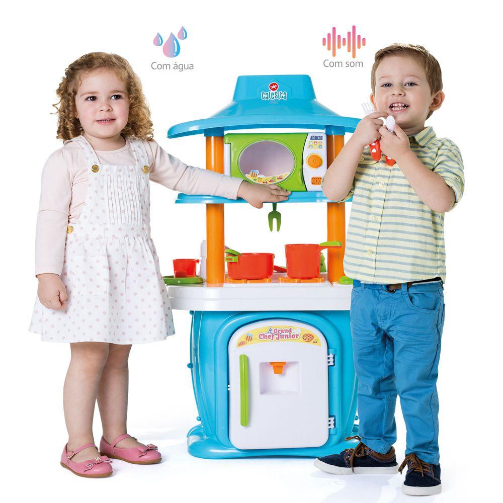 Mami Brinquedos Promocao Cozinha Infantil Le Grand Chef Junior