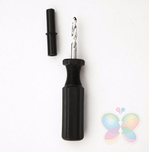 10 Brocas Verrumas Drill P/ Bulk Ink - Com Capa Protetora