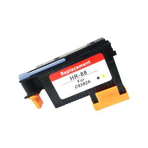 Cabeça De Impressão Compatível 88 ( C9382a ) Hp Black Yellow