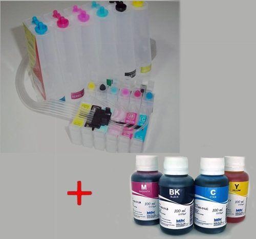 Bulk Ink Epson T50 T700w Tx720wd + 6 Frascos De Tinta