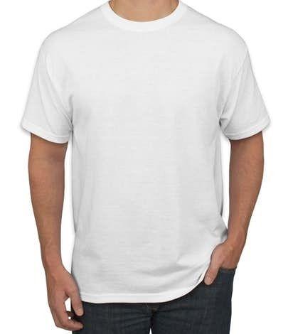 25 Camisetas Brancas De Poliéster Sublimação Alta Qualidade