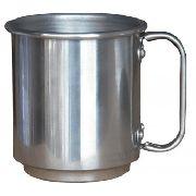 12 Canecas De Alumínio Resinadas Para Sublimação 400ml