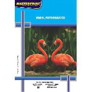 Papel Fotográfico Glossy 230g - Master Print- 100 Folhas A4