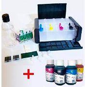 Bulk Ink Para Epson Tx200 Tx220 Tx400 Luxo+ 4 Frascos De Tinta