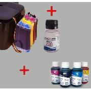 Bulk Ink Epson Tx420 Tx235 Tx320f + 4 Frascos De Tinta