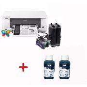 Bulk Ink Epson K101 K301 + 2 Frascos 100ml Pigmentada Intkec