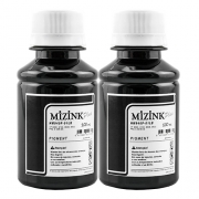 2 Frascos de 100ml - Tinta Mizink Pigmentada Compatível Com Hp 940 E 951