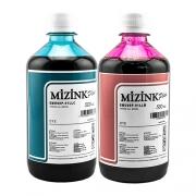 2 Frascos De 500 Ml - Tinta Corante Mizink Epson - EMU08P