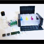 Bulk Ink Para Epson Tx125 Tx135 Tx133 Luxo + Tinta Pigmentada
