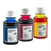 3 Frascos De 100 Ml - Tinta Corante Mizink Epson - EMU08P