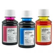 3 Frascos De 100 Ml - Tinta Corante Mizink Para Canon - CO26P