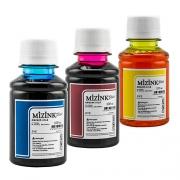 3 Frascos De 100 Ml - Tinta Corante Mizink Para HP - HM951/HM088P