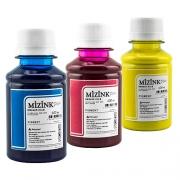3 Frascos de 100ml - Tinta Mizink Pigmentada Compatível Com Hp 940 E 951
