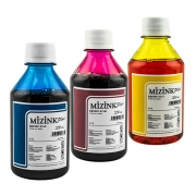 3 Frascos De 250 Ml - Tinta Corante Mizink Epson - EMU08P