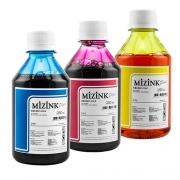 3 Frascos De 250 Ml - Tinta Corante Mizink Para HP - HM951/HM088P