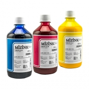 3 Frascos De 500 Ml De Kit Tinta Sublimática Mizink Original