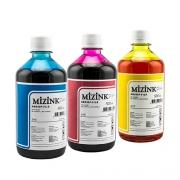 3 Frascos De 500 Ml - Tinta Corante Mizink Para HP - HM951/HM088P