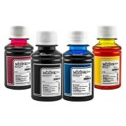 4 Frascos De 100 Ml - Tinta Corante Mizink Epson - EMU08P
