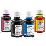4 Frascos De 100 Ml - Tinta Corante Mizink Para Canon - CO26P