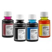 4 Frascos De 100 Ml - Tinta Corante Mizink Para HP - HM951/HM088P