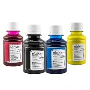 4 Frascos de 100ml - Tinta Mizink Pigmentada Compatível Com Hp 940 E 951