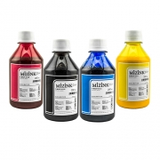 4 Frascos De 250 Ml De Kit Tinta Sublimática Mizink Original