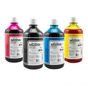 4 Frascos De 500 Ml - Tinta Corante Mizink Para Canon - CO26P