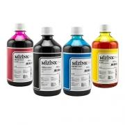 4 Frascos De 500 Ml - Tinta Corante Mizink Para HP - HM951/HM088P