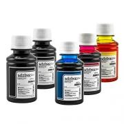 5 Frascos De 100 Ml - Tinta Corante Mizink Epson - EMU08P
