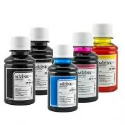 5 Frascos De 100 Ml - Tinta Corante Mizink Para Canon - CO26P