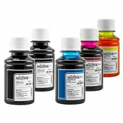 5 Frascos De 100 Ml - Tinta Corante Mizink Para HP - HM951/HM088P
