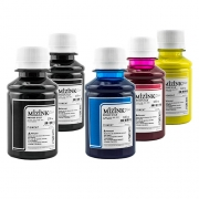 5 Frascos de 100ml - Tinta Mizink Pigmentada Compatível Com Hp 940 E 951