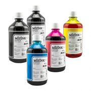 5 Frascos De 500 Ml - Tinta Corante Mizink Para Canon - CO26P